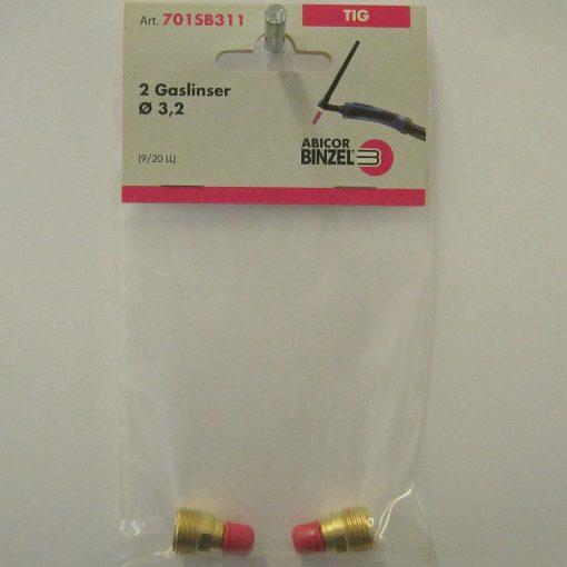 Gaslins 3,2 mm's elektroder