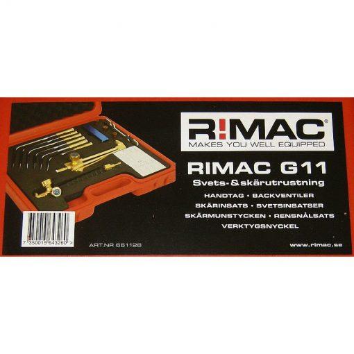 Gassvetsutrustning G11 Rimac