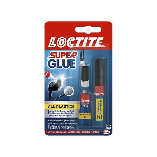 Snabblim Plast Loctite Super Glue