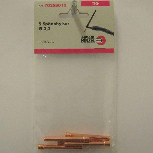 Spännhylsa 3,2 mm L= 50 mm